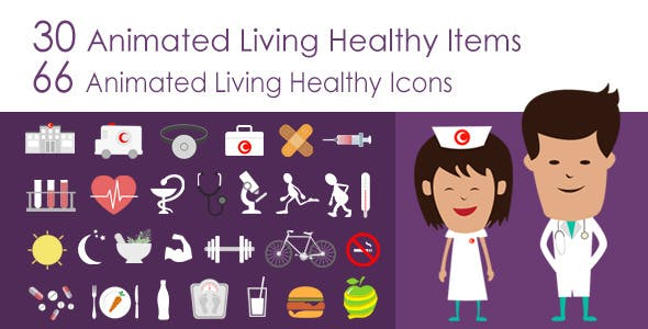 Living Healthy Infographics