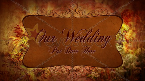 Autumn Wedding Elements 87420