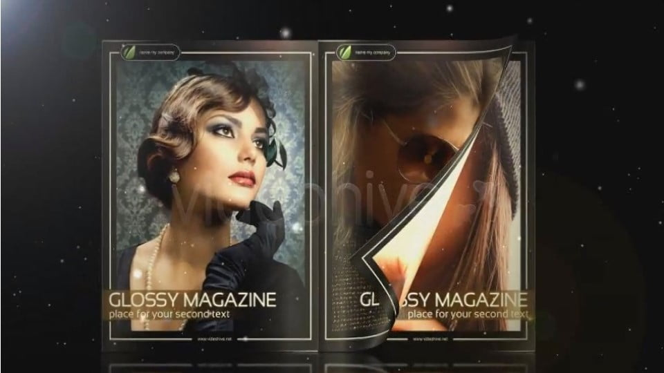 Glossy Magazine After Effects