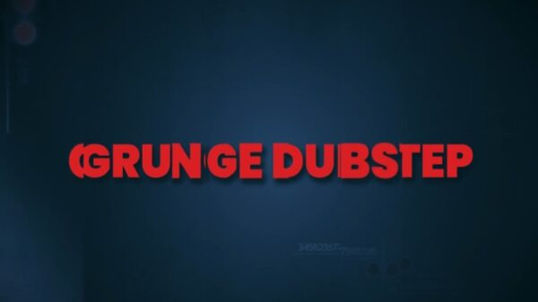 Grunge Dubstep Slideshow After Effects