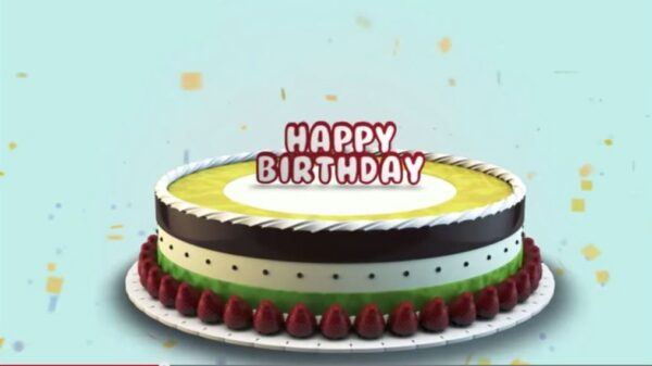 Happy Birthday! After Effects