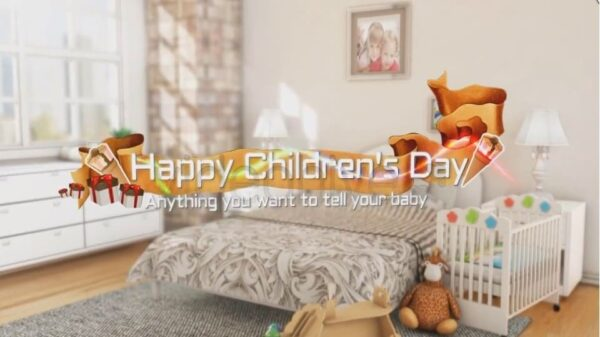 Happy Childrens Day After Effects