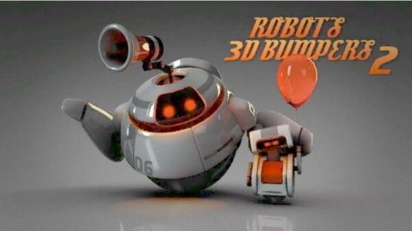 Robots 3D logo bumpers II After Effects