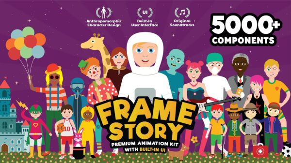 FrameStory I Explainer Character Animation Toolkit with Built In UI