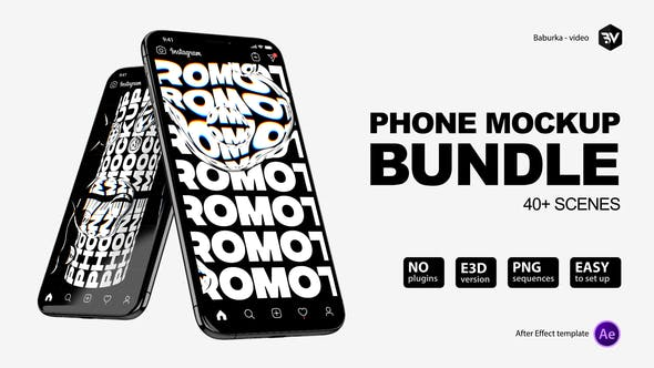 Phone Mockup Bundle