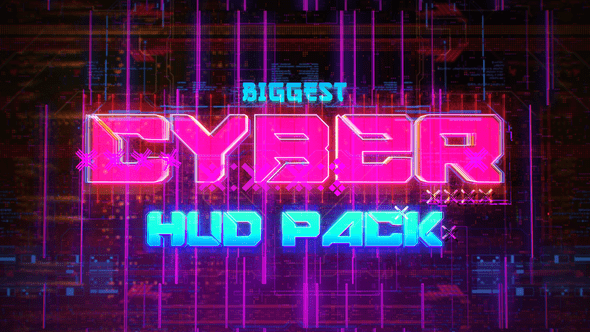 Biggest CYBER HUD Pack Special Events