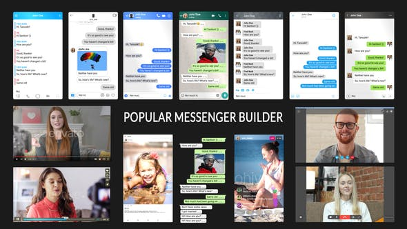 Popular Messenger Builder v3.0