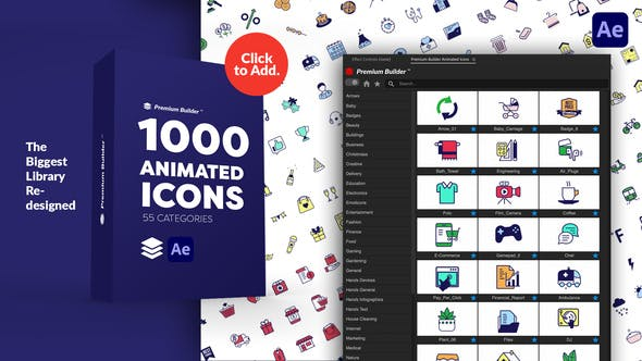 PremiumBuilder Animated Icons