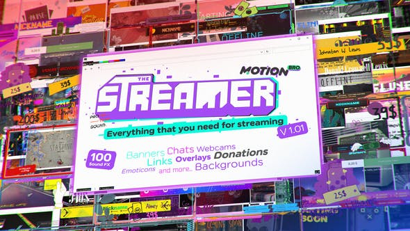 The Streamer Everything for Web Twitch Youtube Live