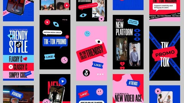 TikTok Stories Pack