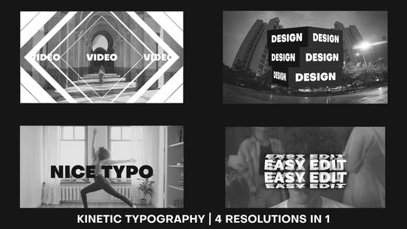 Modern Typography Promo
